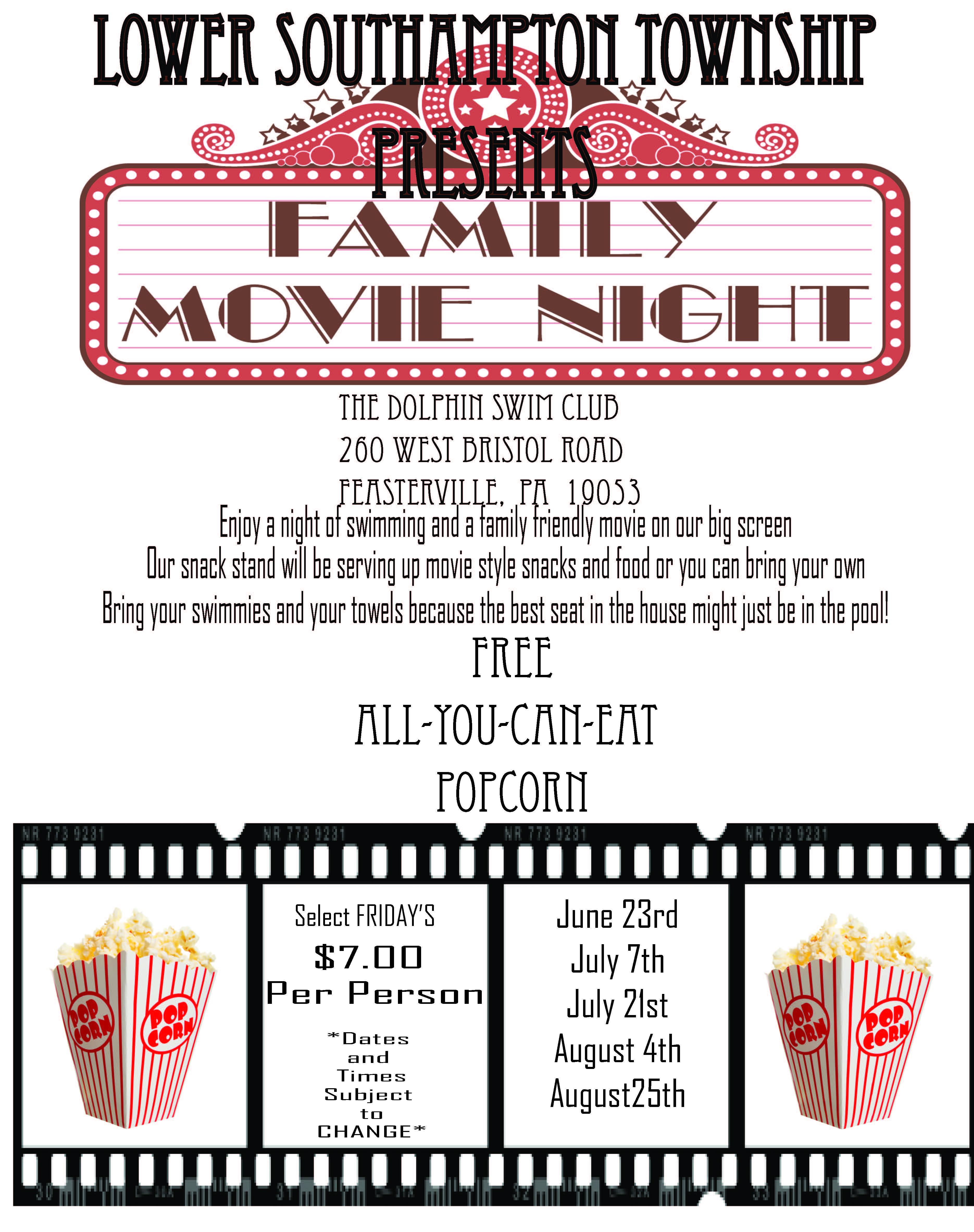 Family Movie Night - HOME
