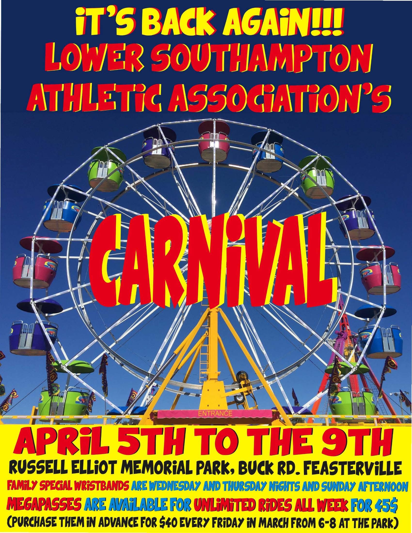 Carnival AD Flyer