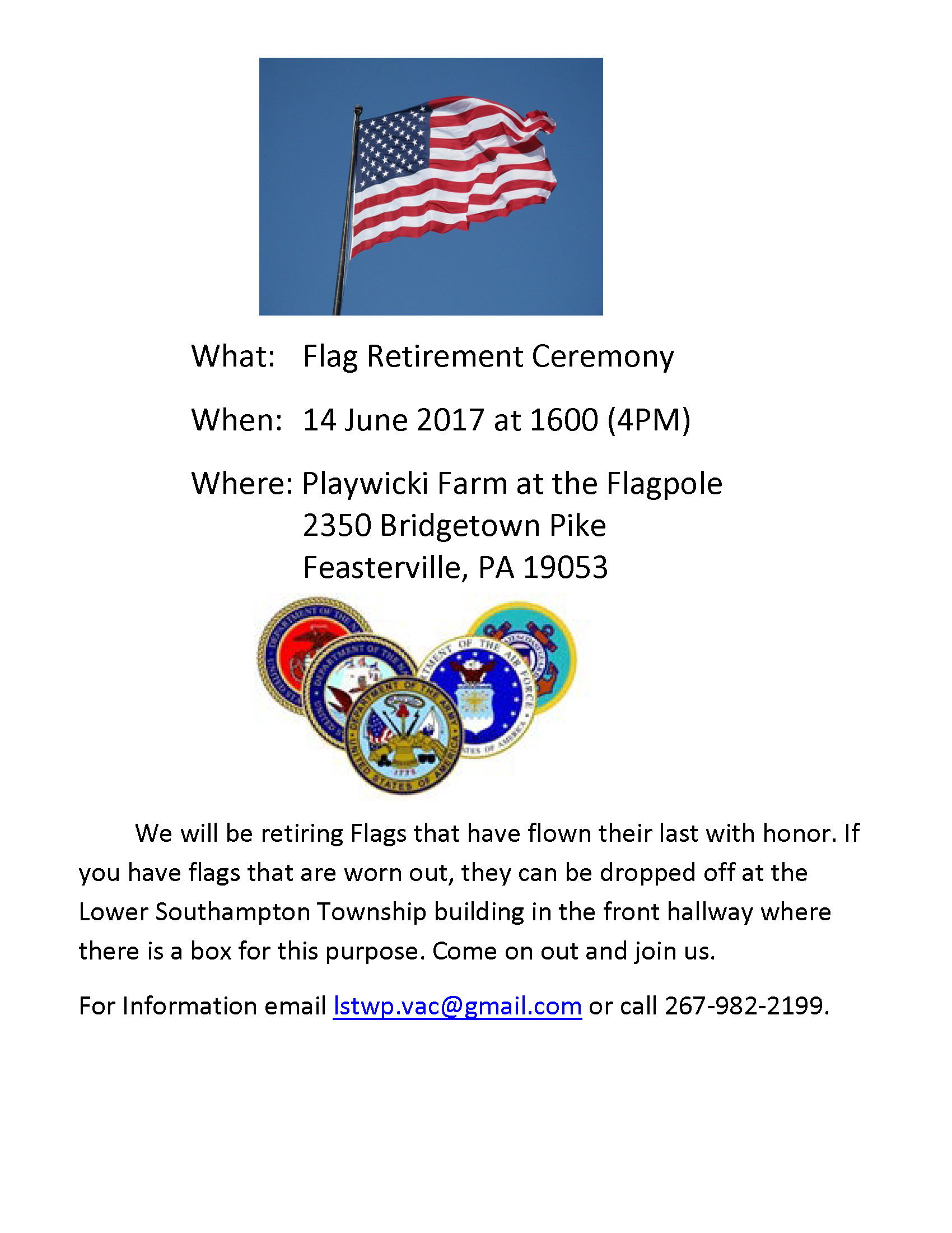Flag Day Flier 2017