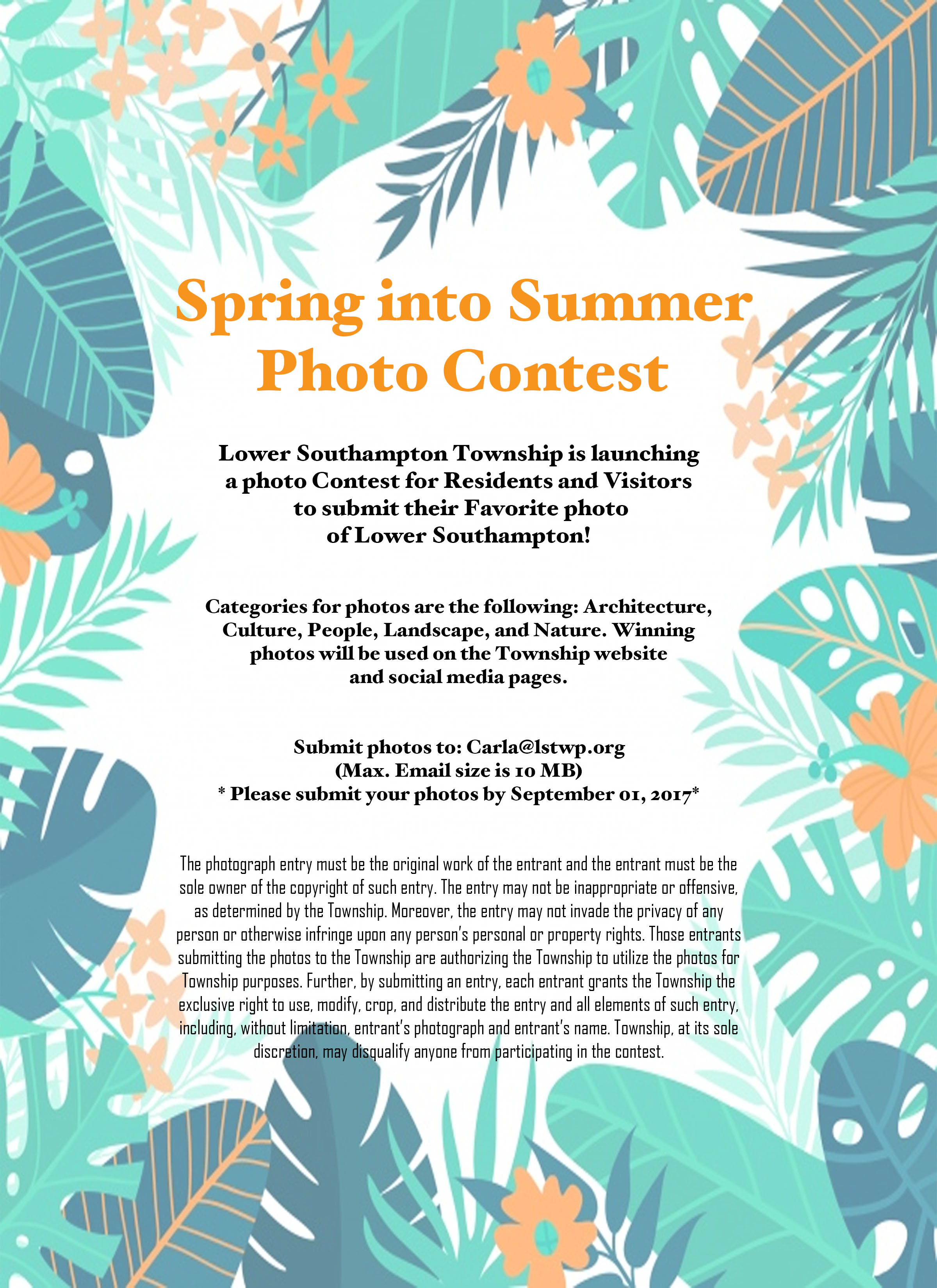 Summer Photo Contest -